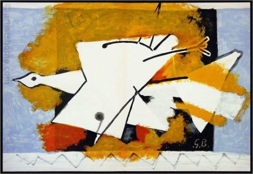oiseau jaune Braque